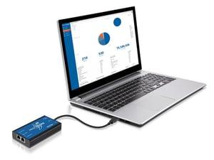 Profishark 1G With A Laptop